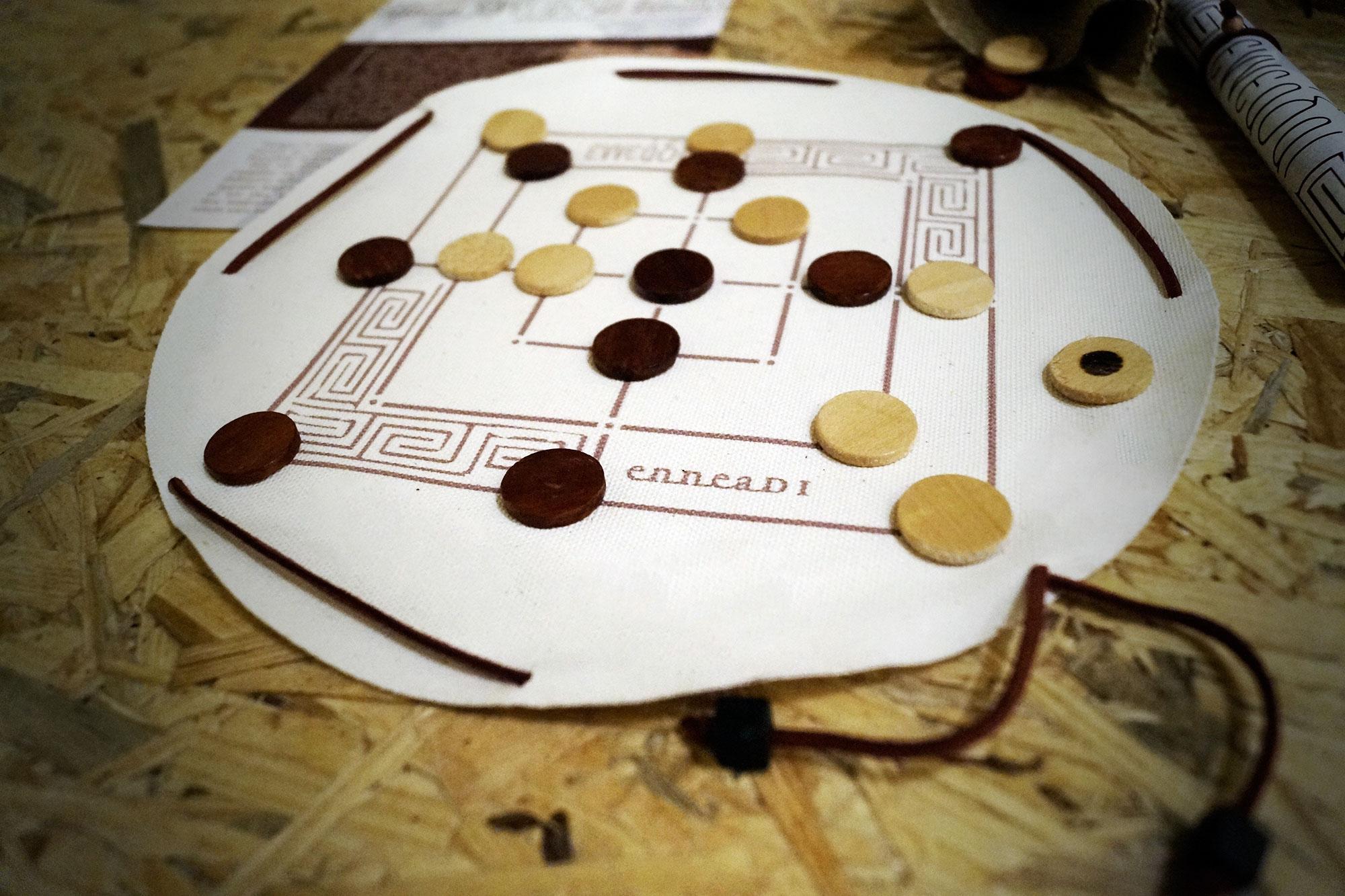 Εννεάδαι - αρχαίο ελληνικό παιχνίδι - Seikilo - www.seikilo.com